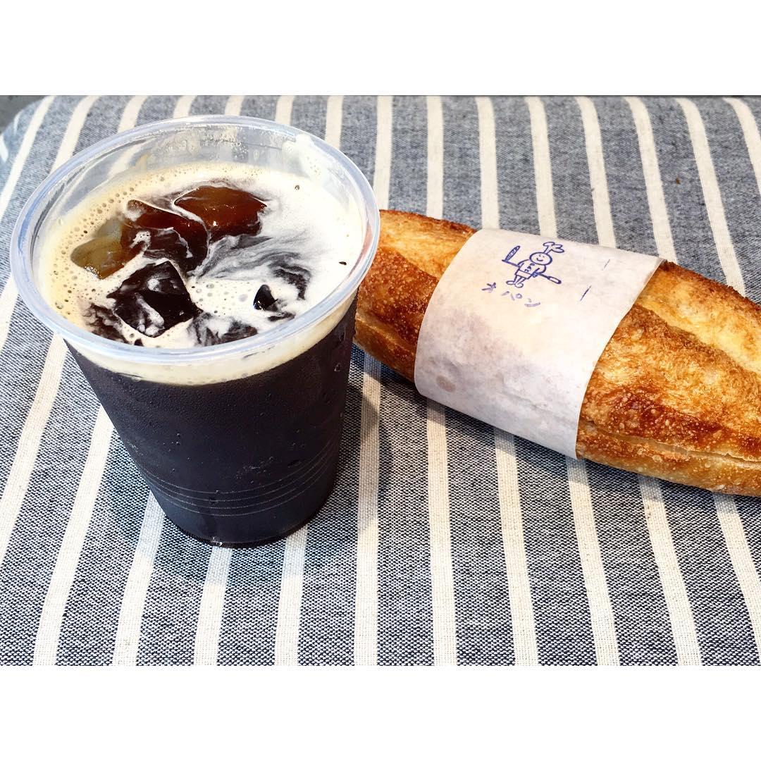 オパンのアイスコーヒー   OPAN オパン 東京 笹塚のパン屋