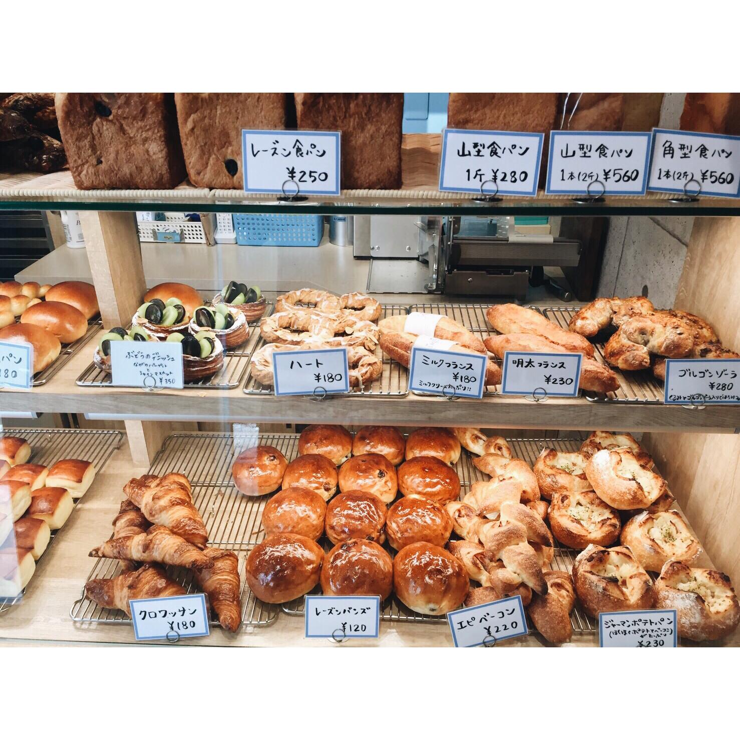 本日のパン棚(2016.09.07)   OPAN オパン 東京 笹塚のパン屋
