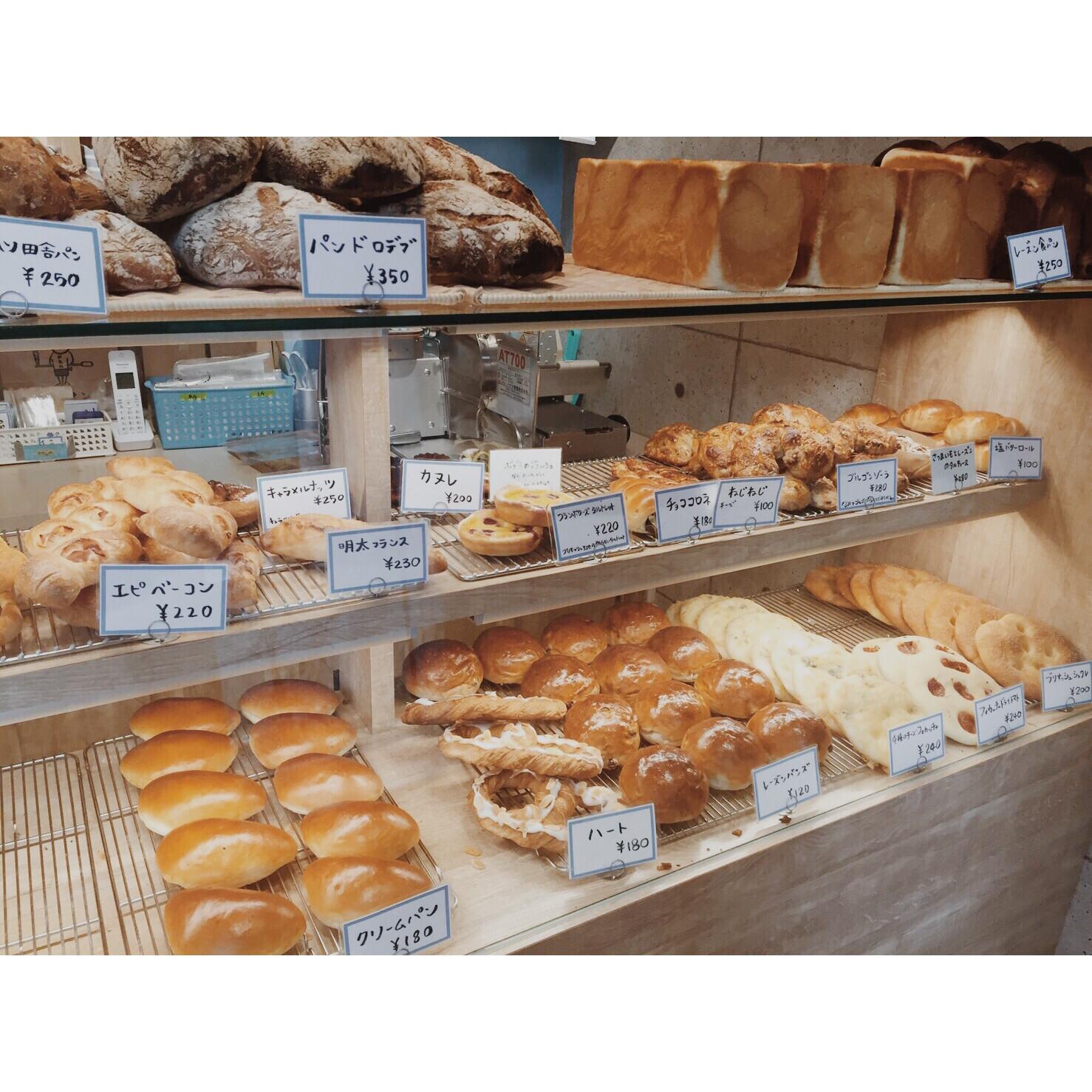 本日のパン棚(2016.09.18) | OPAN オパン|東京 笹塚のパン屋