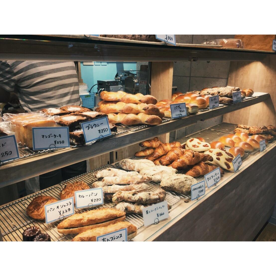 本日のパン棚(2016.10.16) | OPAN オパン|東京 笹塚のパン屋