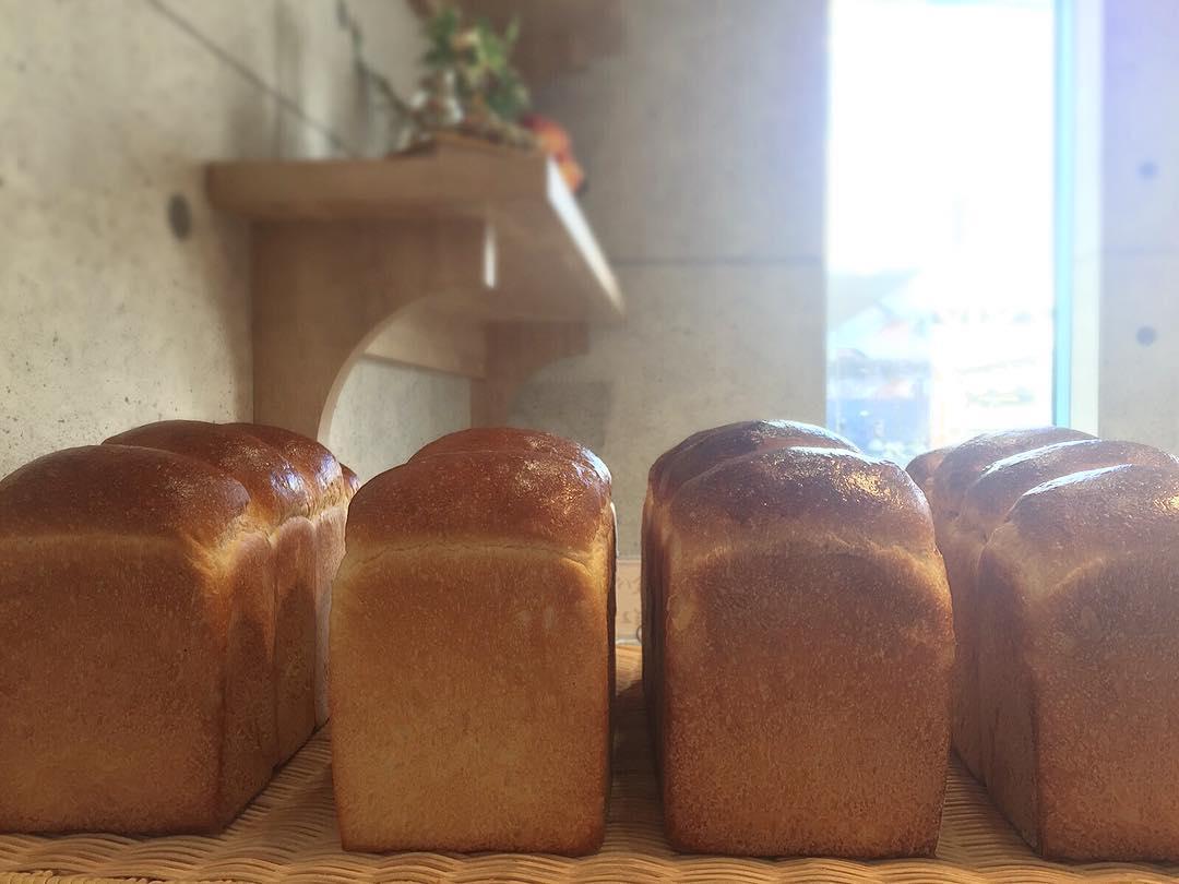 オパンの山型食パン、角型食パン(2017.01.26)