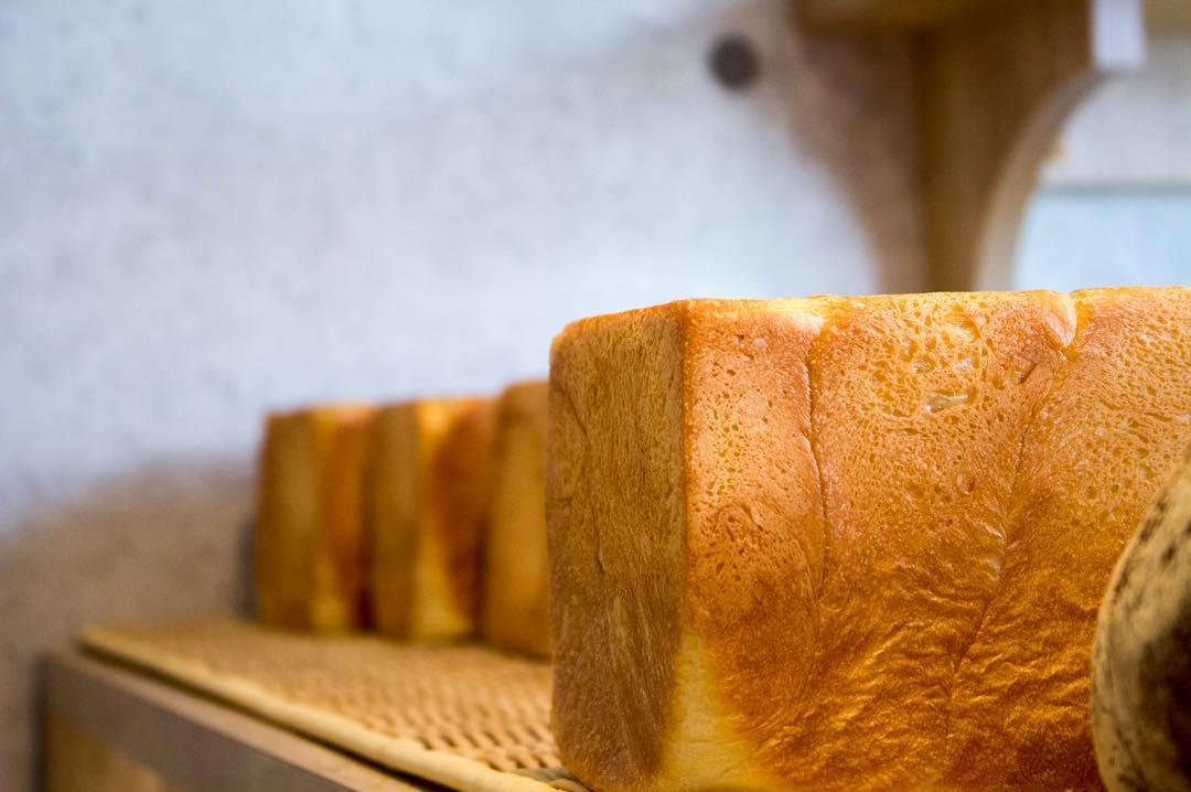 オパンの山型食パン、角型食パン(2017.03.15)
