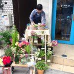 母の日コラボ(addict f×オパン) 1日限定小さなお花屋さん(2017.05.14)