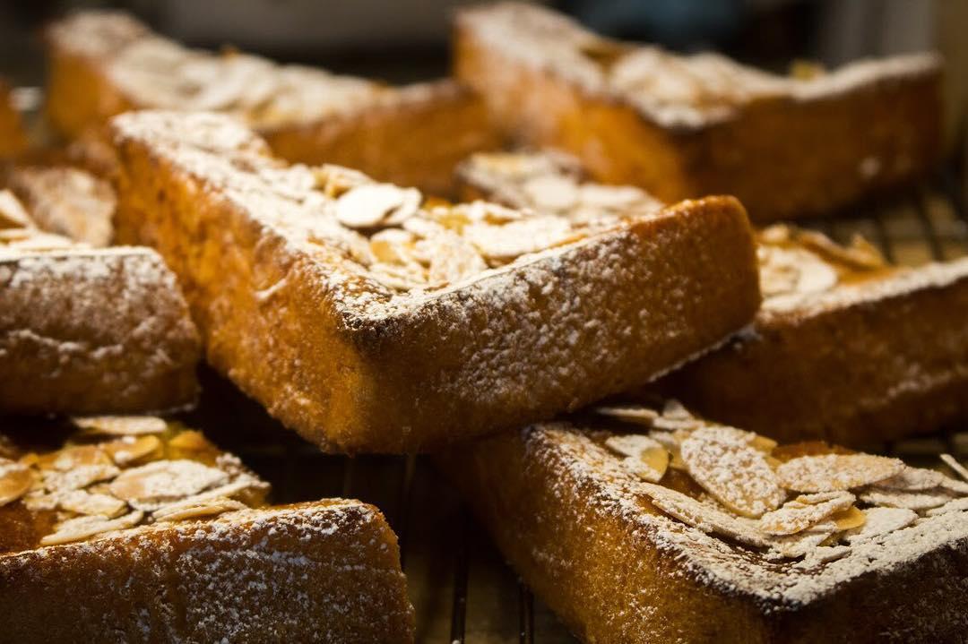 オパンのレーズン食パンのフレンチトースト(2017.08.07)