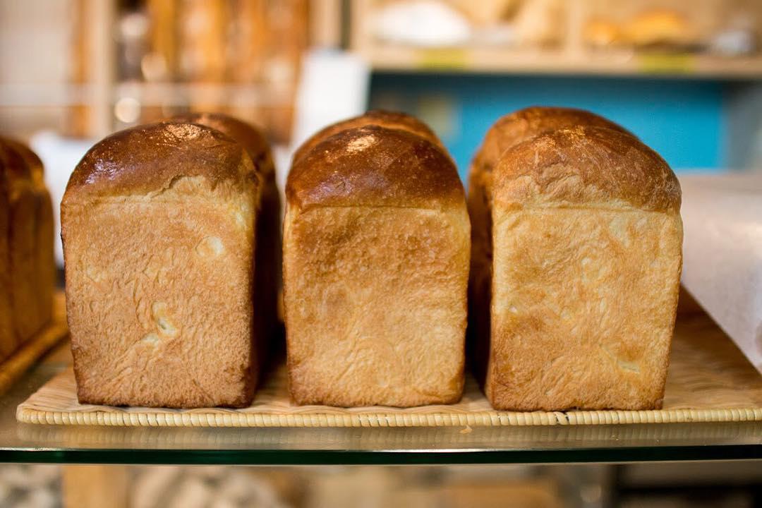 オパンの山型食パン、角型食パン(2017.09.15)