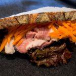 オパンの自家製ローストポークのカンパーニュサンドイッチ(2017.09.18)