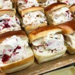 ラムレーズンとフランボワーズのパヴェクリームチーズサンド(2018.06.29)