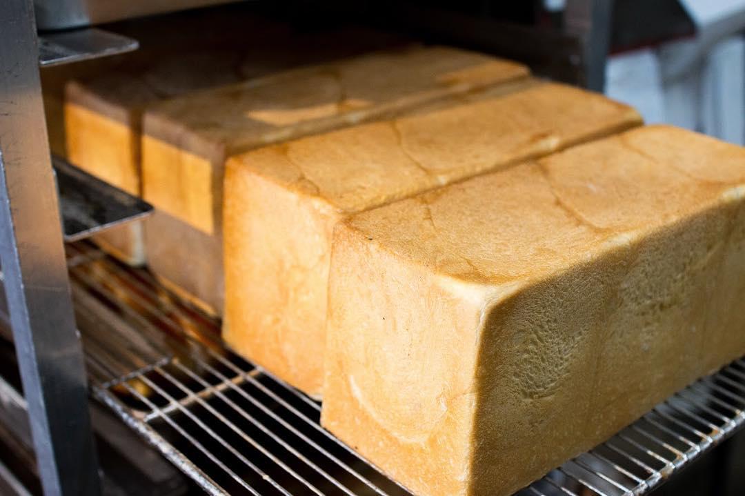 オパンの山型食パン、角型食パン(2018.07.04)