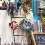 addict flower さんによる「オパン1日花屋」がオープン(2018.10.07)