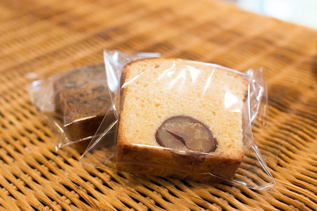 オパンの栗のケーキ(2018.10.25)