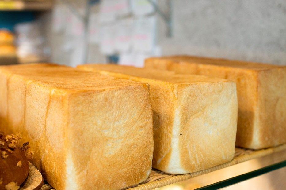 オパンの山型食パン、角型食パン(2019.05.17)