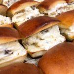 本日限定 ラムレーズンとクリームチーズのデザートサンド(2019.07.26)