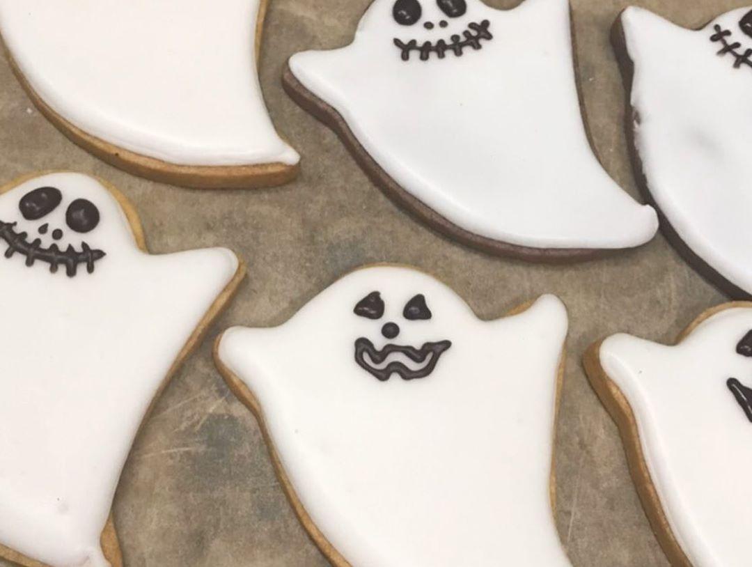10月31日はハロウィン当日は、ご来店のお子様にクッキーを差し上げています(2019.10.25)